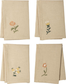 102677 Dinner Napkin Set - Botanical - Set Of 2 (Pack Of 2)