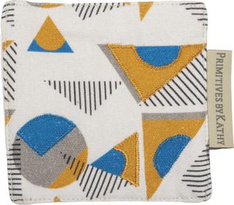 102460 Coaster - Geometric - Set Of 4 (Pack Of 6)