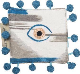 102458 Coaster - Single Eye - Set Of 4 (Pack Of 6)