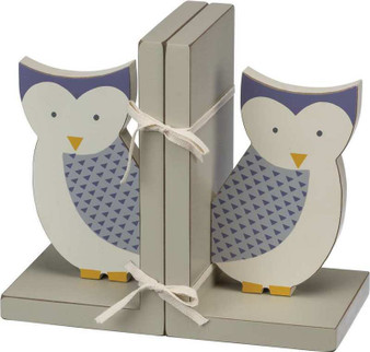101922 Bookends - Owl - Set Of 2