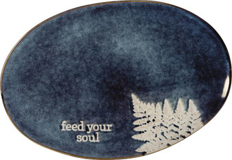 101846 Platter - Feed Your Soul (Pack Of 2)