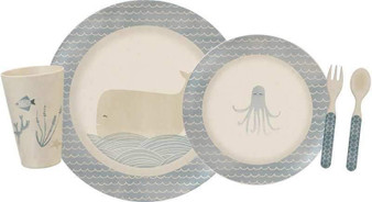 101807 Meal Set - Under The Sea - Set Of 2 (Pack Of 2)