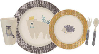 101797 Meal Set - Woodland - Set Of 2 (Pack Of 2)