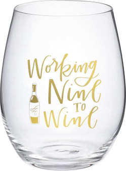 101463 Wine Glass - Nine To Wine - Set Of 4