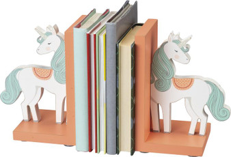 100924 Bookends - Unicornament - Set Of 2