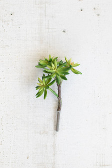 (6 Pack) Artificial Succulent Stem