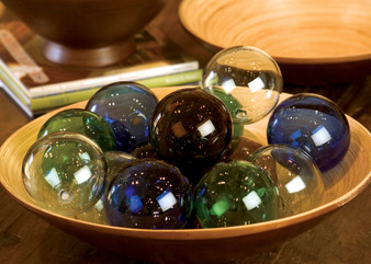 """(6 Pack) Clear 4"""" Round Glass Ball Ornament"""