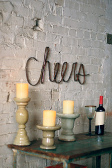 Decorative Scrap Iron Cheers