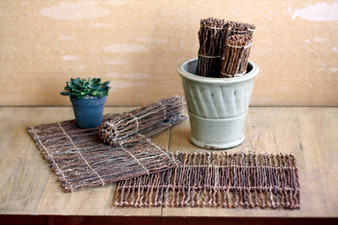 (6 Pack) Coco Twig Placemat