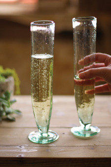 (6 Pack) Tall Recycled Champagne Flute