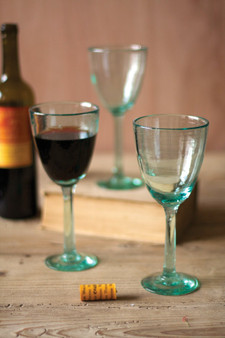 (6 Pack) Recycled Wine Glass