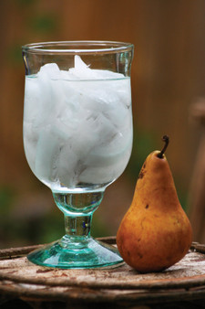 (6 Pack) Large Recycled Water Goblet