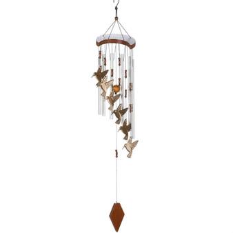 Aluminum Hummingbird Wind Chimes - (10015860)