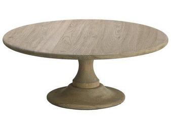 "7.5""H X 17.75""D Wood Cake Plate Natural ACW352-NA"