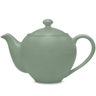 24 Ounces Green Small Teapot - (8485-443)