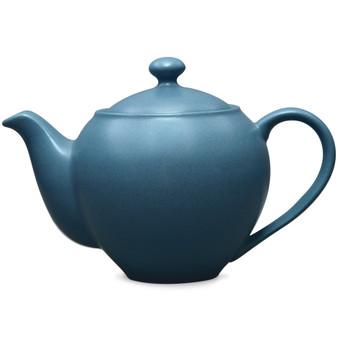 24 Ounces Blue Small Teapot - (8484-443)