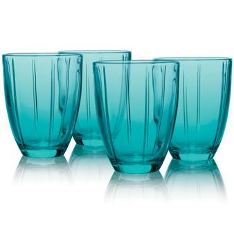 12 Ounces Turquoise Tumbler Set Of 4 (830-121D)