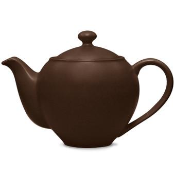 24 Ounces Chocolate Small Teapot - (8046-443)
