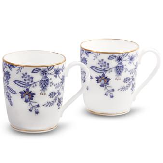 10 Ounces Blue Mugs Set Of 2 (4562-P97280)
