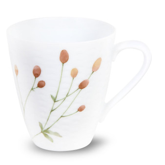 10 Ounces White Pink Mug - Pack of 2 - (1654-5355C4)