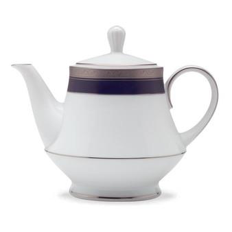 Crestwood Cobalt Platinum 38-Ounces Teapot (4170-427)