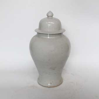 Busan White Temple Jar Small (1654S)