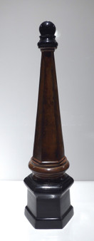 Stone Bronze Brass Architectural Finial (W449)