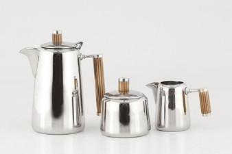 Bone Brass Handle Coffee Set (ST421)