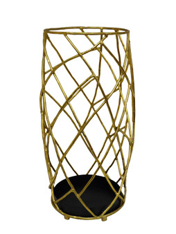 Gold Twig Iron Umbrella Stand (HC703)