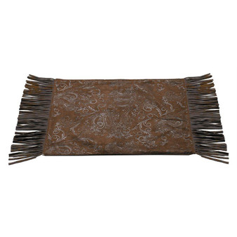 Caldwell Placemats - Set Of 4 - Brown/Ivory (PM1004)