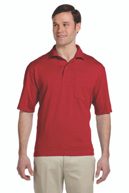 Jerzees Adult Pocket Jersey Polo