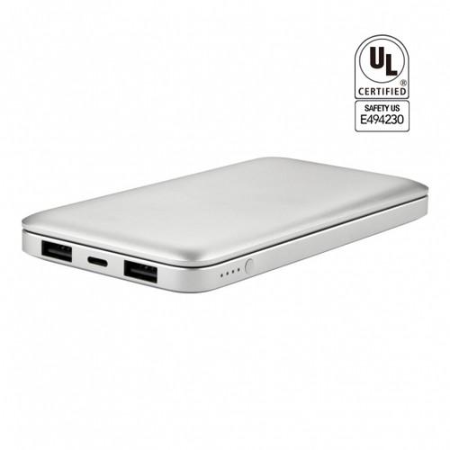 UL Certified 10,000 mAh Stylish Metal Powerbook