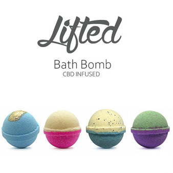 LIFTED CBD BATH BOMB