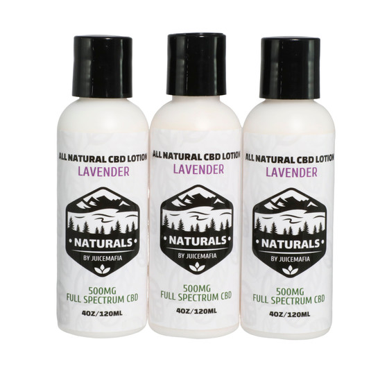 CBD LOTION 3 PACK