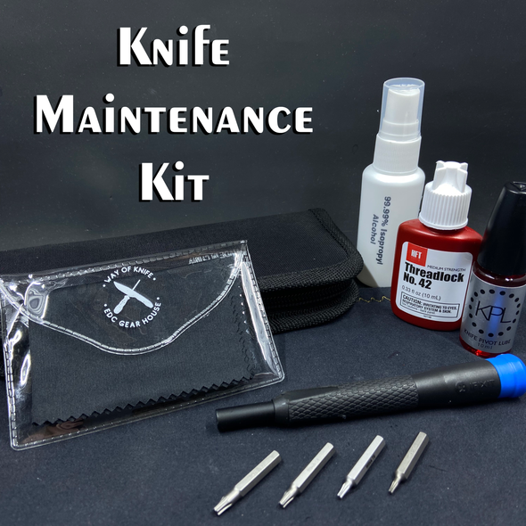 WOK&EDCGH Knife Maintenance Kit