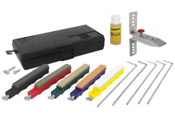 Lansky Deluxe 5-Stone Precision Knife Sharpening System