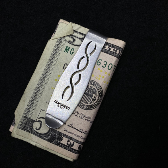 LionSteel Briarwood Titanium Money Clip