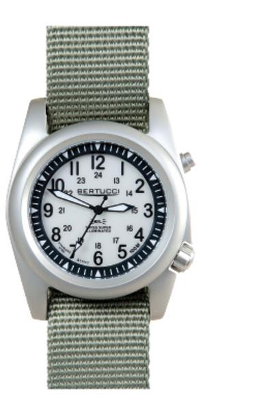 Bertucci A-2SEL Super Illumintated Mens Field Watch 22026 Ghost Gray