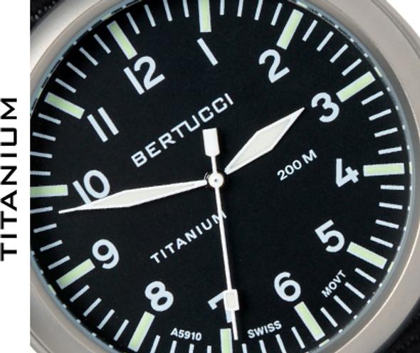 Bertucci A-4T Aero Pilot Mens Field Watch 13400