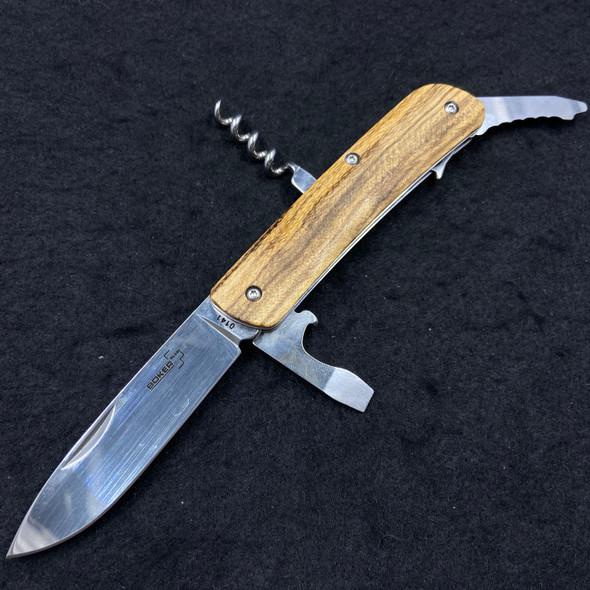Boker Tech Tool 2 ZebraWood Multi-Tool Slip Joint 01BO845