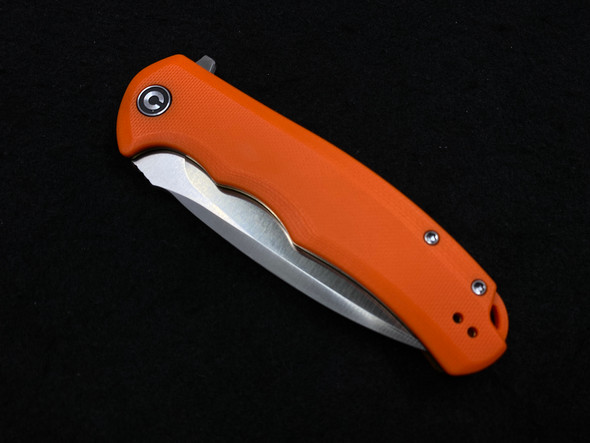 Civivi Praxis Orange G10 Flipper 3.75in