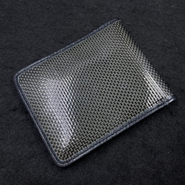 Bastion Carbon Fiber Bi-Fold Wallet