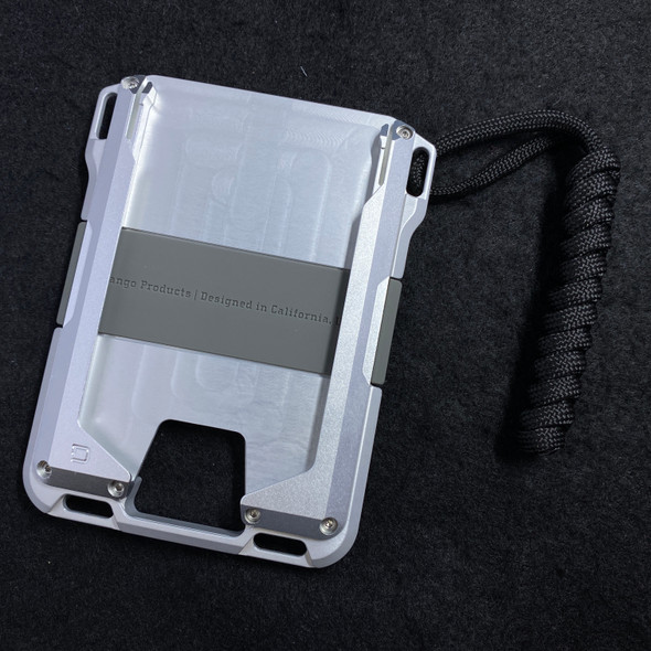 Dango M1 MAVERICK RAIL WALLET Satin Silver