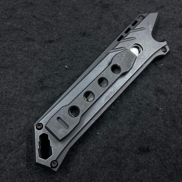 "Civivi Mandate Utility Knife Multitool Black (2.12"" Utility Edge)"