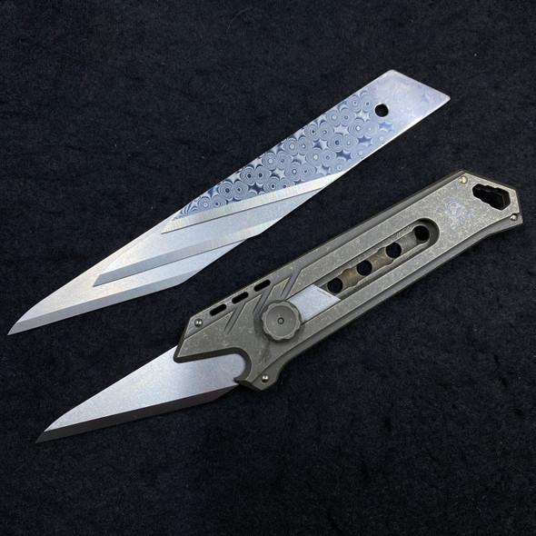 """Civivi Mandate Utility Knife Multitool Bronze Titanium (2.12"""" Utility Edge)"""