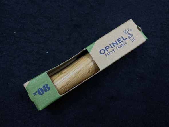 Opinel No.08 Oak Stainless Steel Pocket Knife
