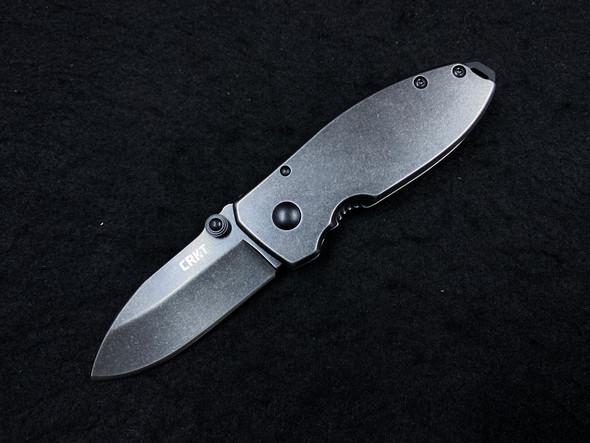 "CRKT Burnley Squid Frame Lock Knife (2.25"" Black Stonewash)"