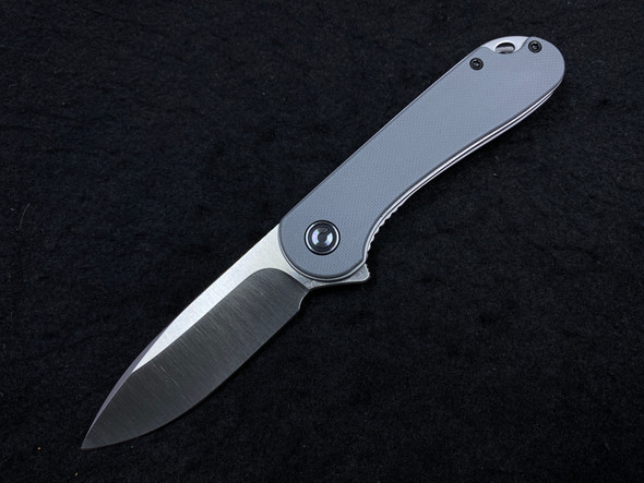 "CIVIVI Elementum Liner Lock Knife Gray G-10 (2.9"" Satin D2)"