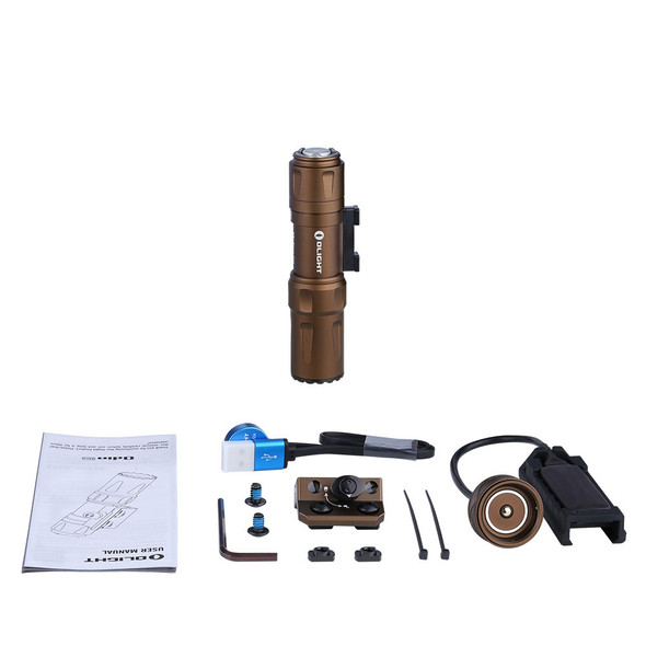 Olight Odin Mini Desert Tan 1250 Lumen Tactical Rail Light