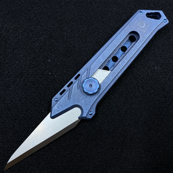 "Civivi Mandate Utility Knife Multitool Blue Titanium (2.12"" Utility Edge)"